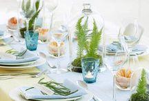 Dining room & table decorations / Ideas for table decorations and inspiration for a dining room (should I ever have one)/Ideetjes en inspiratie voor de tafel en de eetkamer (mocht ik er ooit een krijgen)