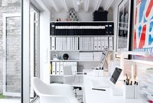 Home office creative space