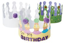 Birthday Parties / Find everything you need to help you host a creative party. From the decorations, to the activities and even the presents....we got it all!