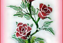 fiori di perline