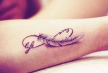 New Feather tattoos