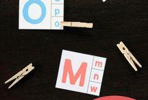 Alphabet/ literacy