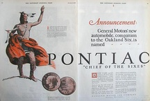 Pontiac: Ads / 1926 - 2010.... what a wonderful ride!!!  a year-by-year history is on the Pontiac Oakland Club International blog site at:  pontiacoaklandclub.wordpress.com