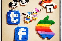 Perler beads / by Jessica
