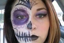 My makeup / Makeup and facepaint