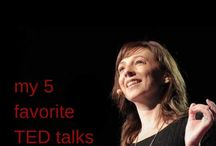 Podcasts and Ted talks