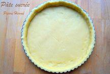 Pâtes à tarte