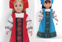 American Girl Patterns and Tutorials / by Suzanne Davis