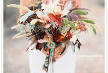 Lakefront Wedding Flowers / bouquets, decor, centerpieces