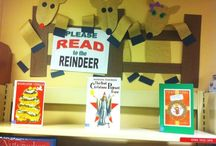Inside the Library / Book displays that have been created by the Livingston County Library staff members.