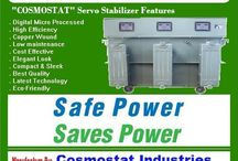 """Digital Servo Voltage Stabilizer / Digital Servo Voltage Stabilizer  Bid goodbye to prolonged power cuts because the digital servo voltage stabilizer from """"COSMOSTAT"""" is most reliable name to overcome issues like voltage fluctuation. It provides stabilizers of different models with highest degree of customer satisfaction."""