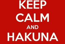 ♥ Hakuna Matata...Don't worry, be HAPPY!! ♥