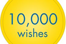 10,000 wishes! / We've officially granted 10,000 wishes! From walking with dinosaurs to life-changing holidays, thousands of children have had their wishes come true.