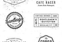 old school typographi