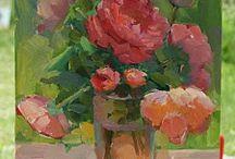 Malarstwo - kwiaty