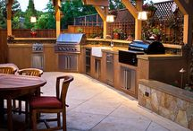Outdoor kitchens / The perfect way to let the chef join the party! There's a kitchen to suit every budget depending how far you take the design and which materials you choose. / by Rated People