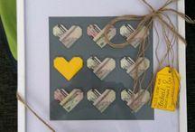 Geldgeschenke / Ideen um Geld zu verschenken