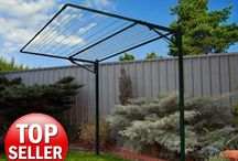 Austral Addaline 35 Fold Down Clothesline / Info on this big fold down clothesline made in Australia