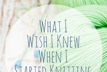 For Beginner Knitters / Knitting tips, beginner knitters, knitting, learn to knit, knit it courses, easy knitting projects