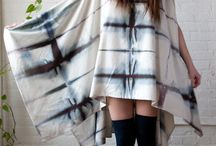 Shibori fashion