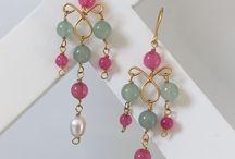 earrings / jewelry hand made