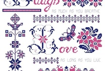 Cross-Stitch Creations and Designers / I just loving doing cross-stitch and have made many cross-stitch and needlework projects over the years.  Here's a few of my favorite cross-stitch designers and cross-stitch Creations.