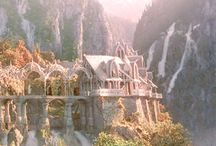 SCREEN | Middle Earth / The Hobbit & trilogy of Lord of the Rings / by Kim Puffpaff