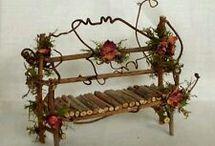 Fairy garden keijupuutarha idea