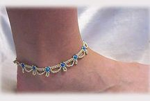 Bead Addiction Online Anklets / Ideas and patterns for anklets