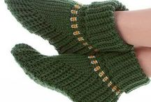 вязание носки