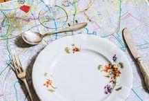 Party / Des idées pour toutes les fêtes (mariage, baptême, baby-shower, anniversaire...) sur le thème du voyage !