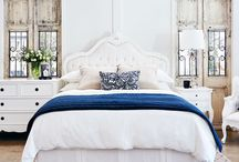 French Provincial Bedrooms / Romantic & Elegant French Provincial White Painted Bedrooms