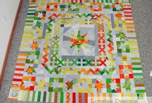 Medallion Quilts / Round and round and round.