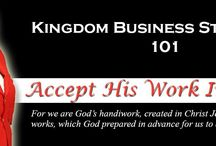 Kingdom Business / This board exist to obtain encouragement and strategies for christian business owners