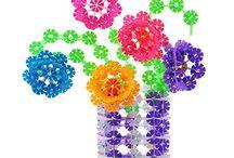 꽃블록 도안