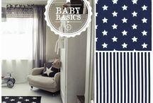 Inspirate y elige tu puff / Seleccionamos combinaciones de telas inspiradas en la decoración de habitaciones de bebés para ayudarte a elegir la que más te guste para tu bebé.