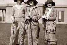 Vintage golf / Ladies golf wear 1920's