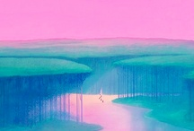 Disney backgrounds / Beautiful backgrounds from various Disney movies