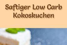 Low carb Kuchen/ Gebäck