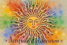 Attitude is a decision / Attitude can turn an ordeal into an adventure.... / by Tiffany Erdwien