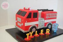 Truck cakes