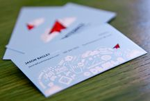 Business Card Ideas / Business card ideas, inspiration and design - creative business cards and just plain beautiful ones