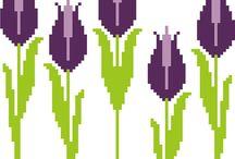 γεωμετρικα λουλουδια 8