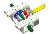 Lego gear board
