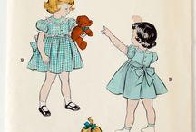 1950s kids sewing patterns