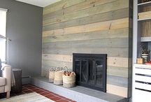 Fireplace / Mantle / by Amanda Overall