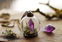 Mini glass globe pendant