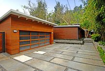 Amazing Driveways / Sometimes the difference between an amazing garage and an average one is not just the garage door, but the driveway as well. From cobblestone, to stamped concrete, to hand-hewn slate, these beautiful driveways will go great with your new garage door from OK Door Service.
