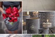 Red Based Wedding Inspiration / by Cari Wible