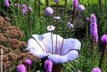 keramika květy